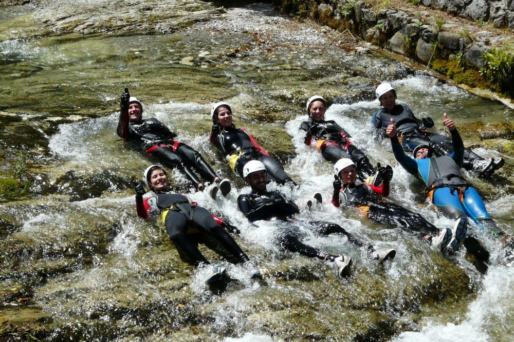 Big fun in the river